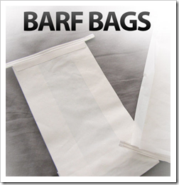 barf bags