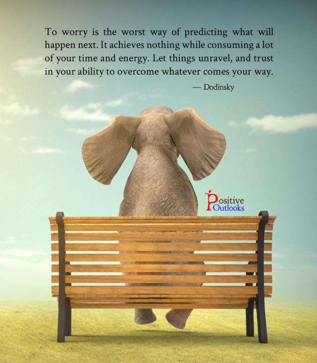 Elefante sentado en un Banco