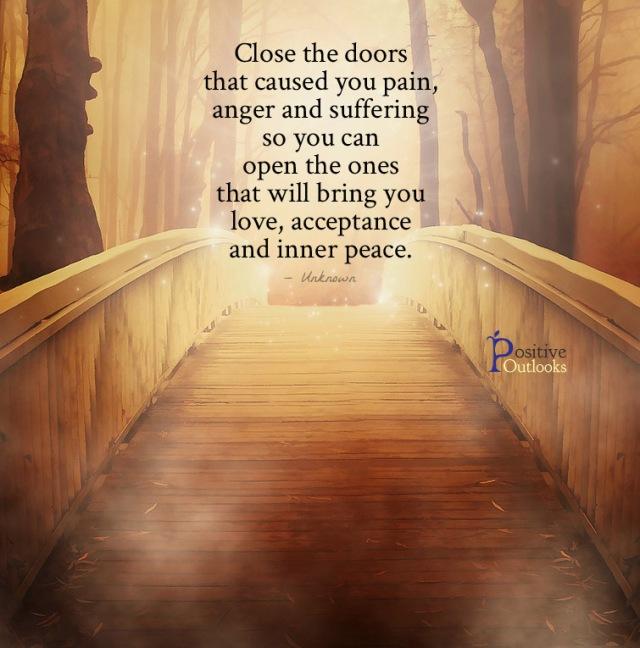 Close the doors